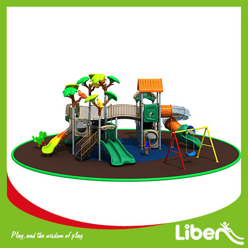 China funny Amusement Park Playhouse Outdoor Playground park Equipment