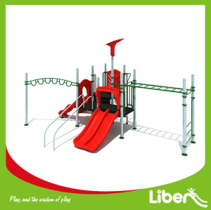 Customized children commercial outdoor climbing playground equipment, children garden playground