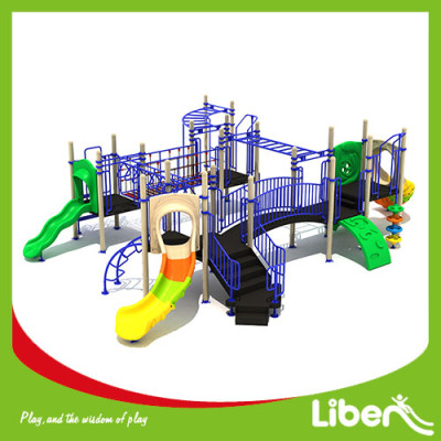 2017 special design funny kids used amusement park climbing outdoor playground equipment for sale