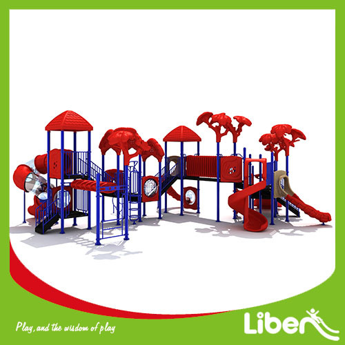 Liben customized special design funny kids used amusement park outdoor playground equipment for sale