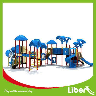 Liben customized special design funny kids commerical used amusement park outdoor playground equipment for sale