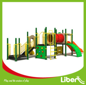 Customized design Children playground,outdoor playground equipment,plastic slide
