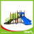 China green new kids outdoor games playground equipment without roof for sale