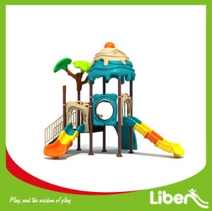 Children outdoor playground plastic material equipment outdoor house park