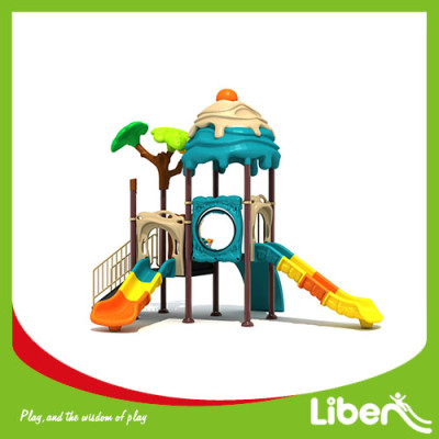 Children outdoor playground plastic material equipment outdoor house park