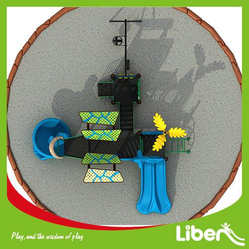 kindergarten small playground/Outdoor/indoor plastic playground slide