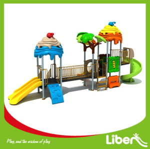 Large outdoor kids funny plastic playground