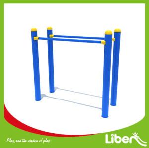 Outdoor fitness equipment double monkey bar