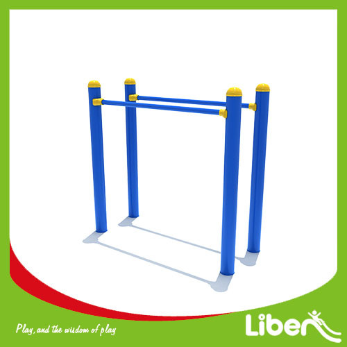 Outdoor fitness equipment double monkey bar