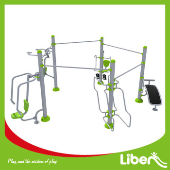Outdoor fitness equipment climbing
