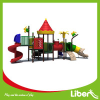 Large outdoor kids funny customized plastic playground