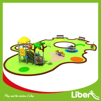 Customized large park good quality whole plan outdoor playground equipment