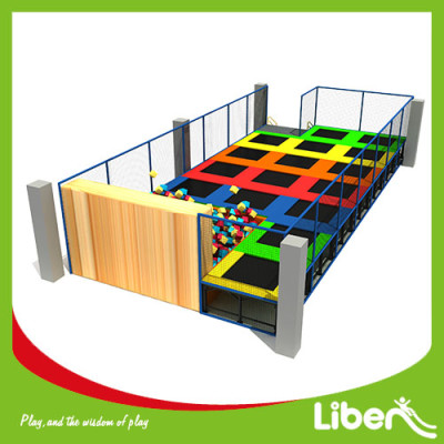 Commerical Big Funny indoor Gymnastic Trampoline Park