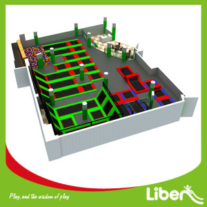 Liben Newest Design Customize Trampoline Park Project in China
