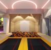 Liben trampoline game -Interactive climbing wall