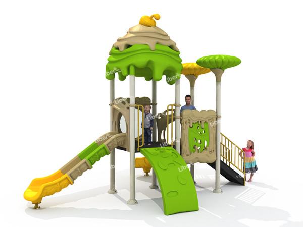 Outdoor Amusement Plastic Slide Supplier