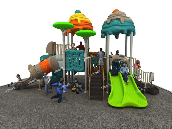 Amusement Combined Slide For Kids Outdoor
