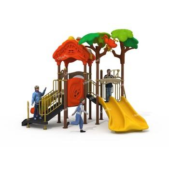 Outdoor Amusement Equipment  Design Combined Slide China manufacturer