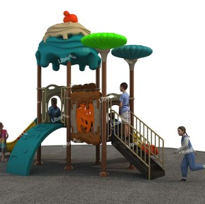 Outdoor Amusement Equipment  Design Combined Slide China supplier
