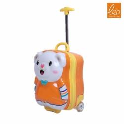 Kids Hard Side Spinner Luggage Bear