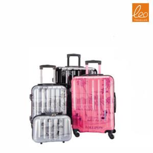 Fashion Spinner Hardside Luggage with handbag
