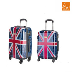 Spinner Hardside Luggage with decoration