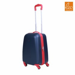 Polycarbonate Carry On Luggage,Black And Red