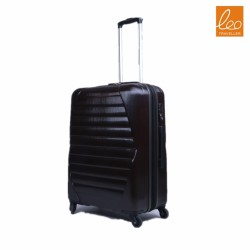 Carry-On with Cup and Phone Convenience Pocket Expandable Spinner Luggage,Black