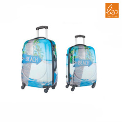 Comics Print Spinner Luggage