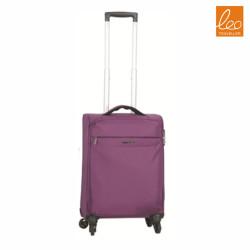 Lightweight Softside Carry On Luggage,purple