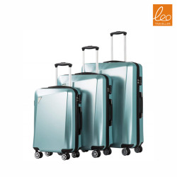3pcs a set  PC + ABS spinner suitcase