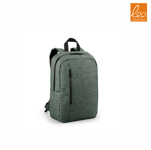 Laptop backpack with waterproof zipper