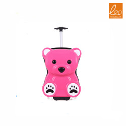Cute Bear Suitcase Luggage