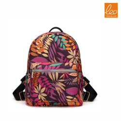 Fashion Design Canvas School backpack