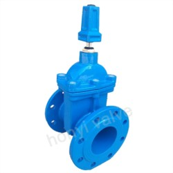 AWWA C509 Resilient Seated gate valve with key