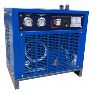 Air-cooled refrigerated air dryer