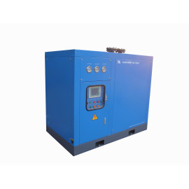 Shanli  12.8 Nm3/min air capacity refrigerated air dryer equipped with a spiral tube-in-tube heat exchanger