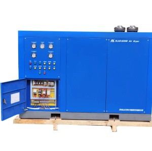 Hanzhou Shanli water-cooled refrigerated air dryer Dryers ordered with 380 Volt