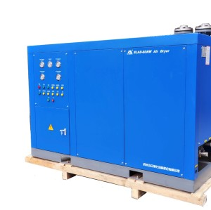 SLAD-30NW Shanli  normal temperature refrigerated air dryer evaluated by series of pressure gauges