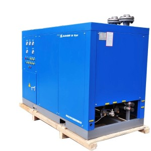 SLAD-500NW water cooling dryer utilizing a direct expansion refrigerant-to-air heat exchanger (Large air floe capacity)