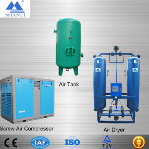 Shanli CE certification Activated Alumina Desiccant Compressed Air Dryer