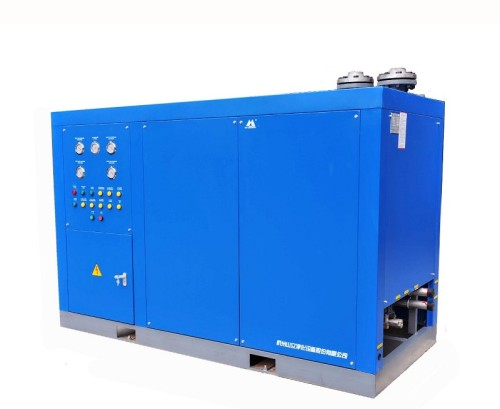Water-cooled Type High-inlet temp refrigerated air dryer to Assab