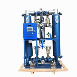 Shanli heated desiccant air dryer with <=7% air consumption
