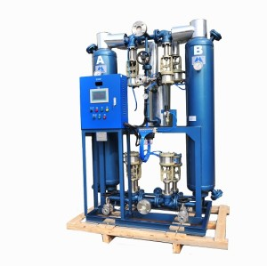 SHANLI Externally Heated Purge Desiccant Air Dryer with the air capacity of 53Nm3/min