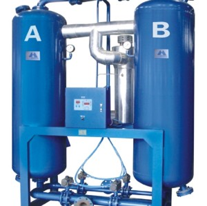 Shanli Purify Heated desiccant  air dryer with the model of SLAD-120MXF