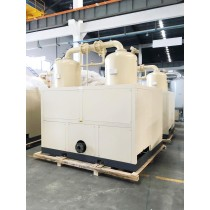 Air-cooled combined type air dryer for power plant