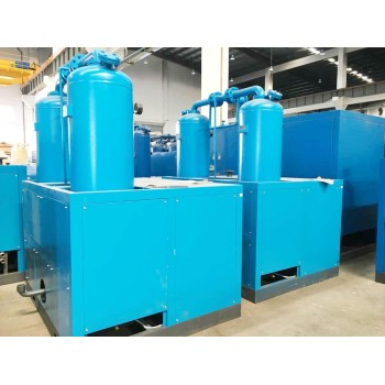 SHANLI 10.9 Nm3/min air capacity water-cooled type combined compressed air dryer used for air compessor