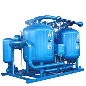 Compression Heat Purge Desiccant Air Dryer with air consumption
