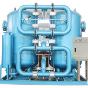 Long lifetime compression heat desiccant adsorpted air dryer  with air consumption