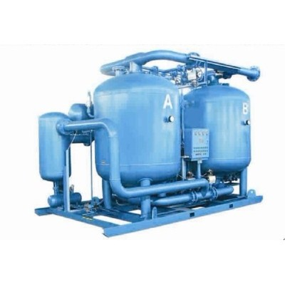 China Shanli heat compressed desiccant refrigerated air dryer diagram